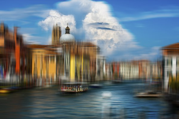 Venice in blue thumbnail