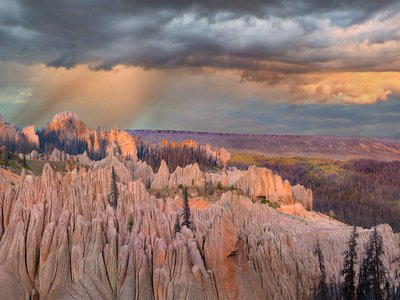 The Wheeler Geologic Area in Colorado's La Garita Wilderness was once a national park.