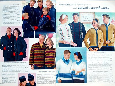 Sears sweater models...or government agents?