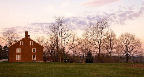 The Shaker Village in Pleasant Hill, Kentucky