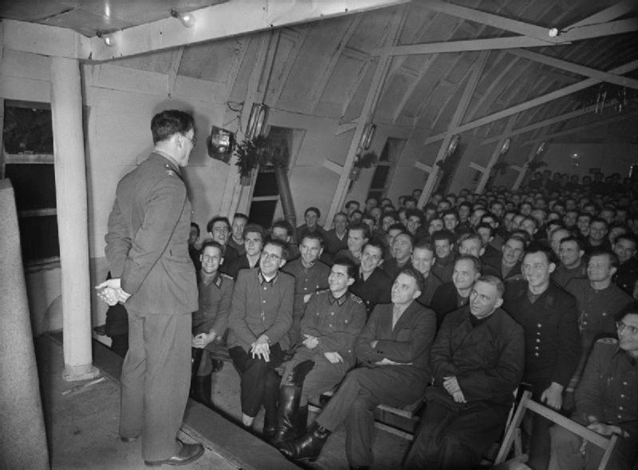 Plotting a route out? German prisoners in Britain during WWII.