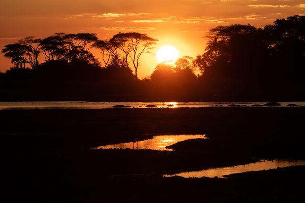 Busanga Plains Sunset thumbnail