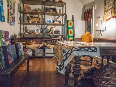 The Dining Room of the Colored Girls Museum