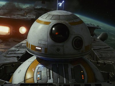 """BB-8 is an """"astromech droid"""" who first appeared in The Force Awakens."""