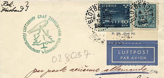 Graf Zeppelin Christmas letter