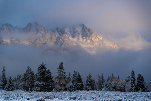 October Sunrise, Grand Tetons National Park thumbnail