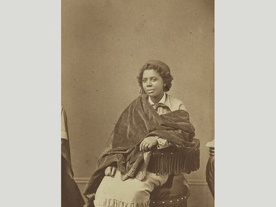 Portrait of Edmonia Lewis by Henry Rocher