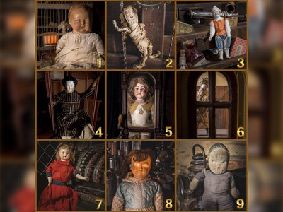 Vote for the creepiest doll via the center's Facebook and Instagram pages.