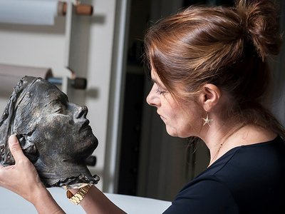 "Tracey Emin, ""Death Mask,"" 2002"