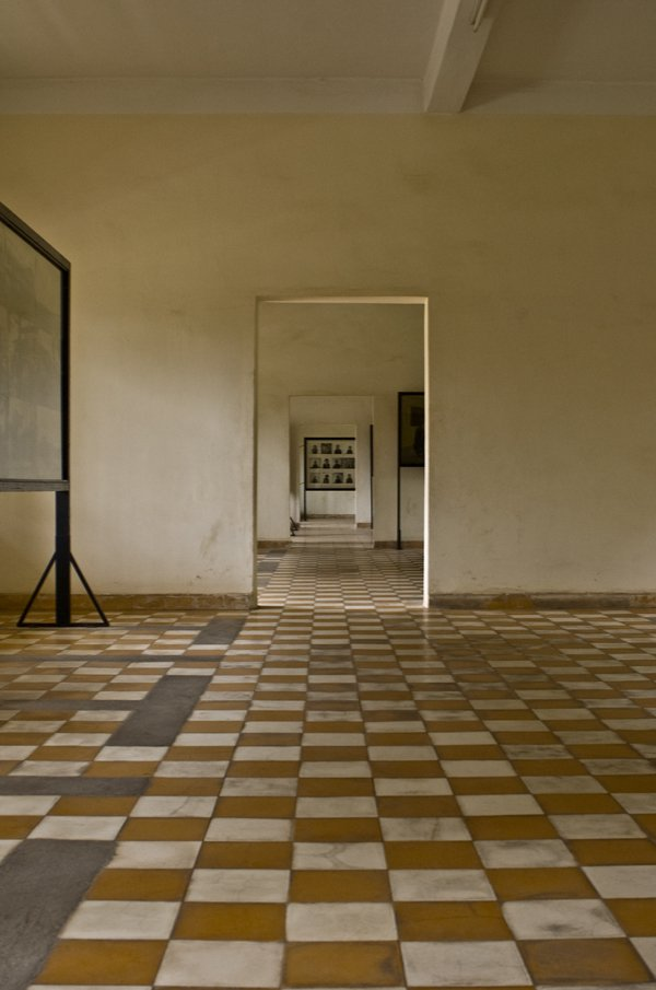 One of the Torture Rooms at Tuol Sleng Genocide Museum in Phnom Penh Cambodia thumbnail