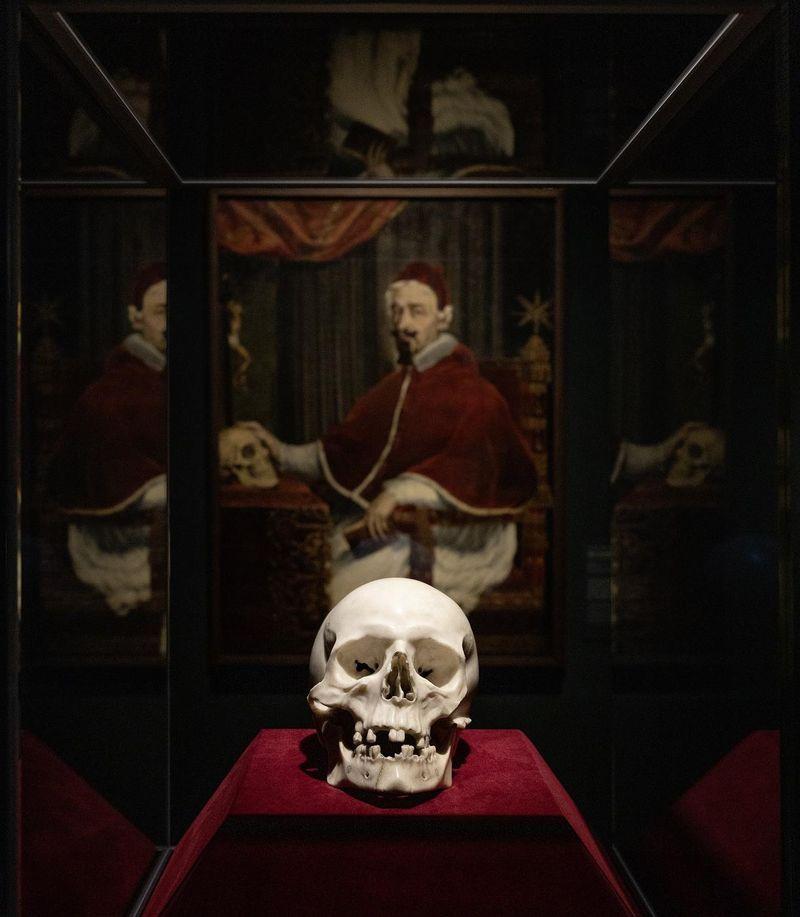 'Lost' Marble Skull Sculpted by Baroque Artist Bernini Found Hidden in Plain Sight