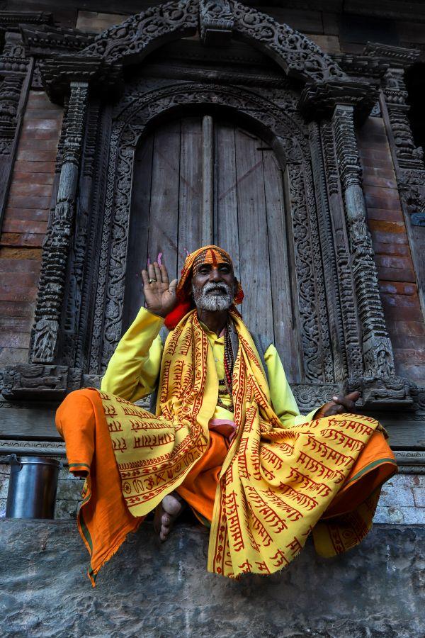 Sadhu in Kathmandu thumbnail