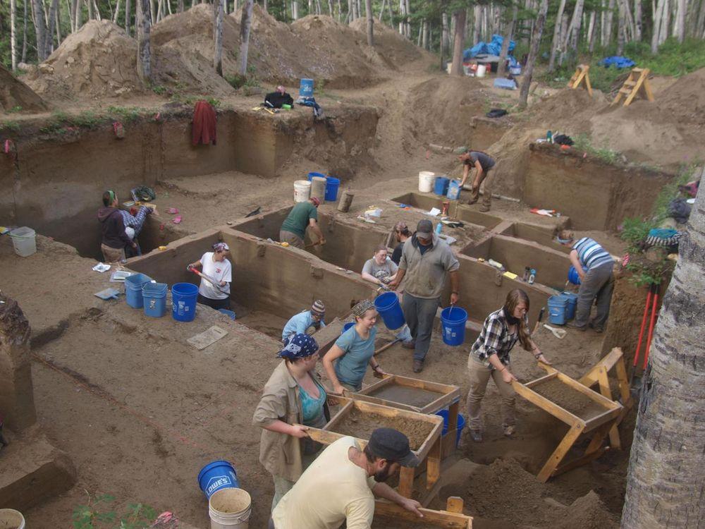 Upward Sun archeology site