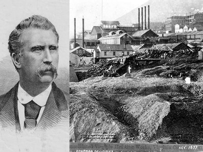John Mackay made a fortune in the mining industry.