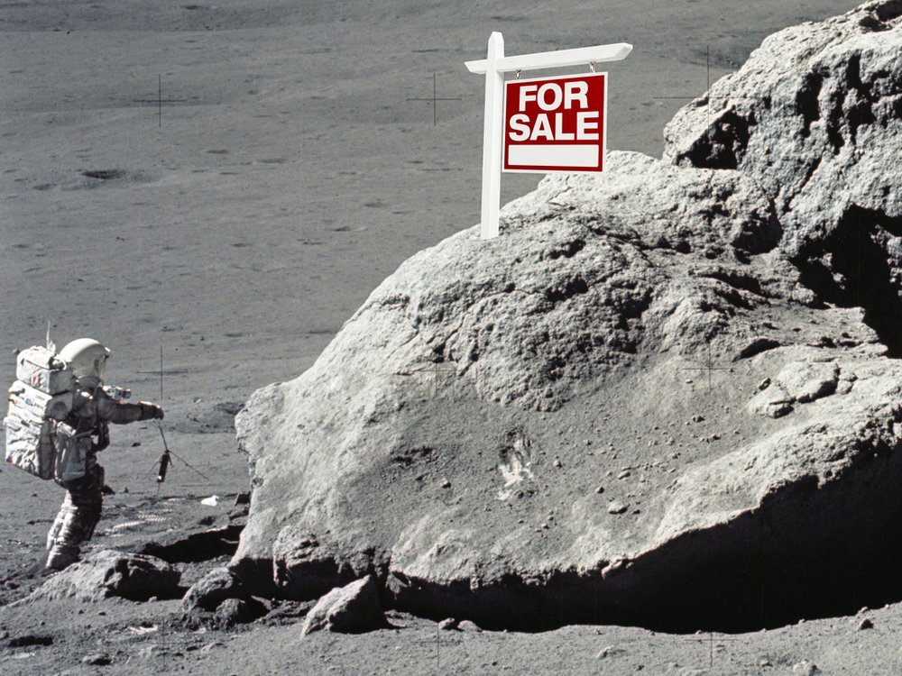 For Sale the Moon