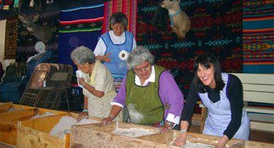 corn-grinding ceremony