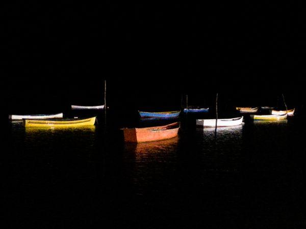Fishermen's boats at Guarda do Embau thumbnail