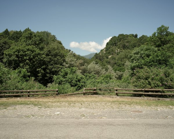Accidented landscape at Rocca Canavese thumbnail