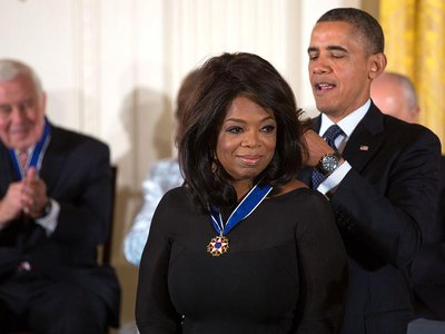 In 2013, Winfrey was honored with the Presidential Medal of Freedom
