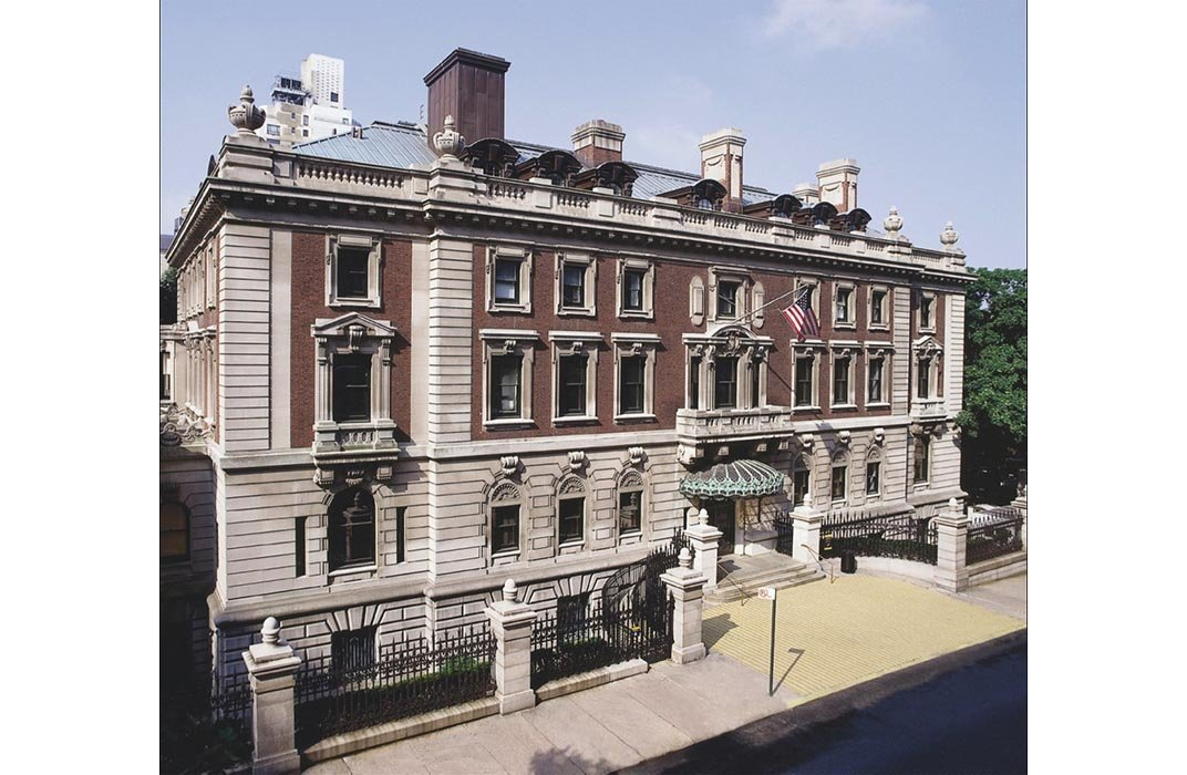 The 64-room former Georgian mansion that once served as home for steel magnate Andrew Carnegie and his family. (Matt Flynn © 2012 Cooper Hewitt, Smithsonian Design Museum)