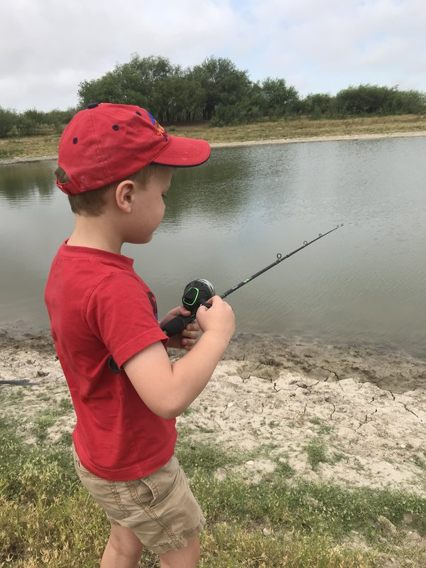 Fishing on the ranch- the Simple Life! thumbnail