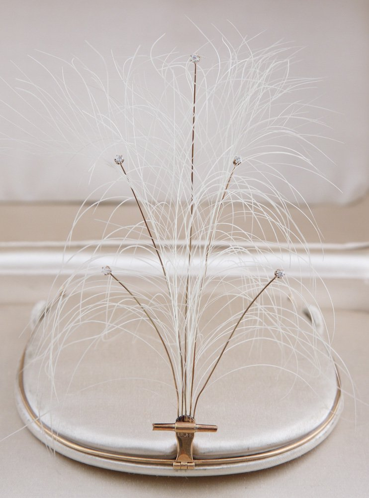 Keeping Feathers Off Hats–And On Birds