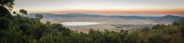Ngorongoro Crater at sunset thumbnail