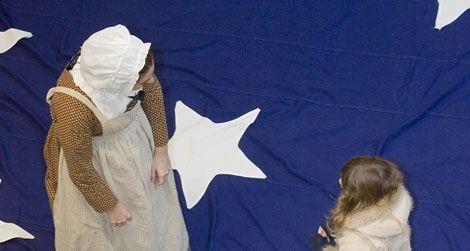 Star-Spangled Banner demonstration
