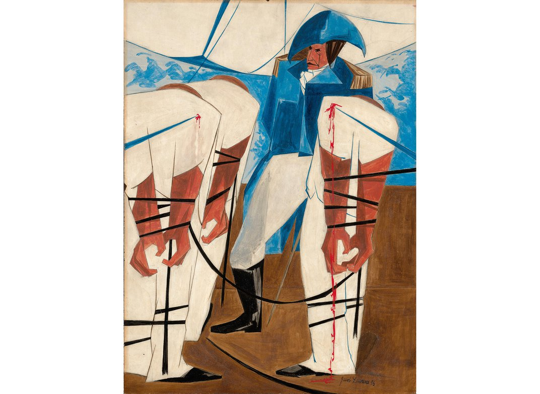 Long-Lost Jacob Lawrence Painting Spent 60 Years Hanging in NYC Apartment
