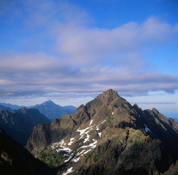 View of Mt Washington from Mt Ellinor Summit thumbnail