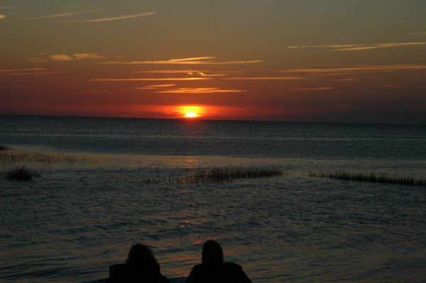 Sunset Over Cape Cod Bay in Orleans thumbnail