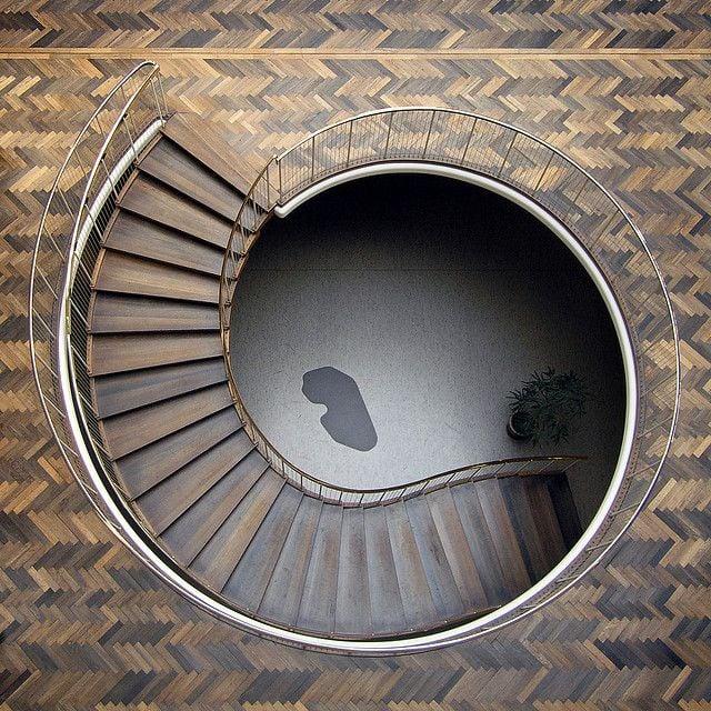 A bog oak floor.