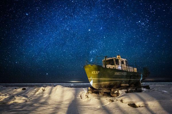 Winter on the White Sea thumbnail