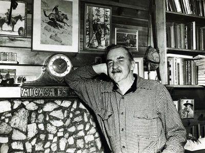 Badger Clark in 1954.