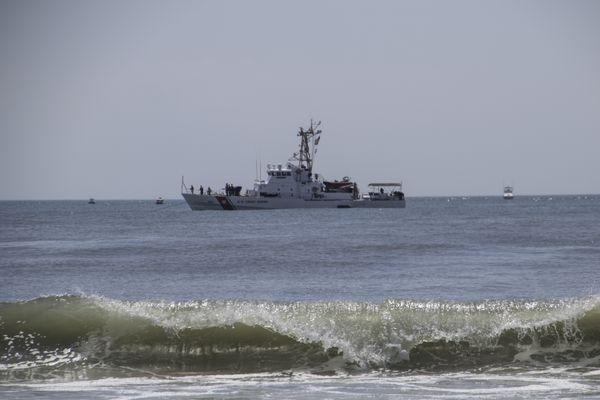 USCG Cushing Patroling the Waters thumbnail