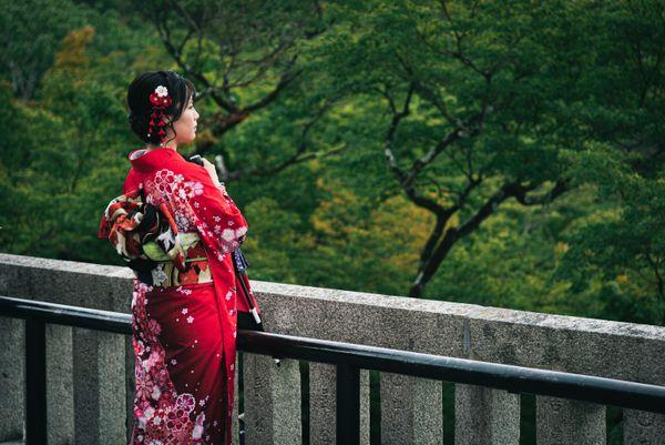 Lady in the Red Kimono thumbnail