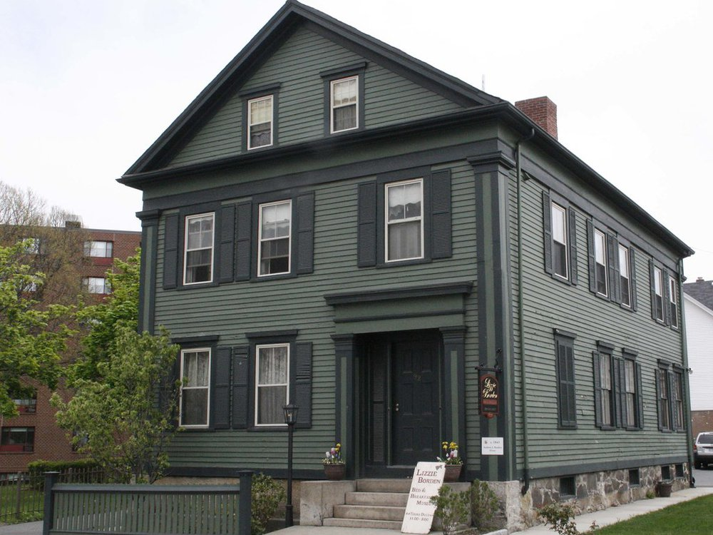 House where Lizzie Borden's father and stepmother were murdered