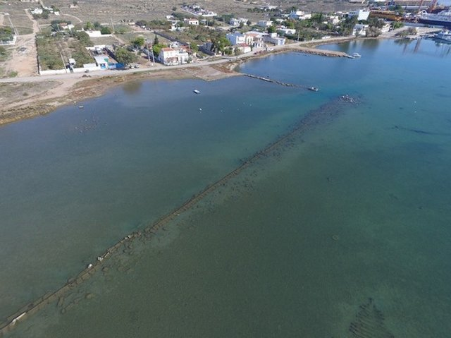 Salamis Harbor