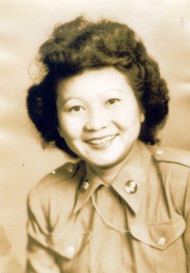 Alice Tetsuko Kono in her Women's Army Corps uniform, around 1943 (NMAH)