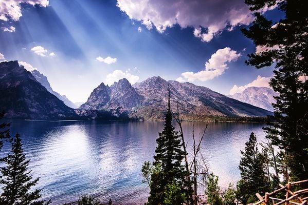 Grand Teton at Jenny Lake thumbnail