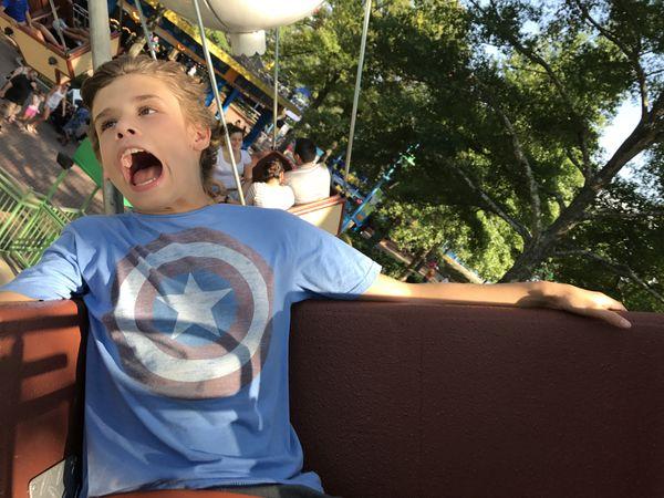 The sheer joy/terror of an amusement park ride. thumbnail