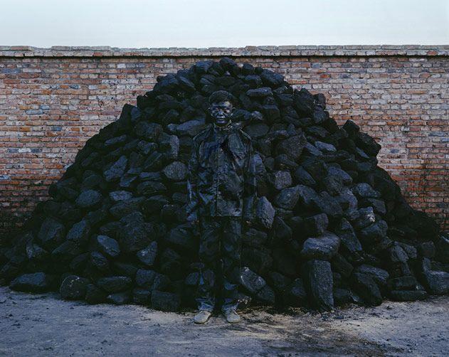 """Hiding in the City No. 95 - Coal Pile,"" 2010"