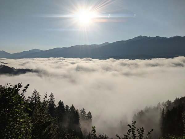 Above the clouds. thumbnail
