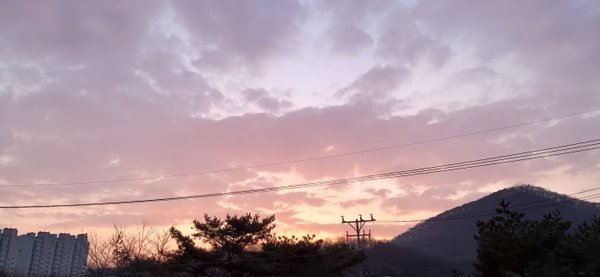 Pink clouds while working for tuition thumbnail