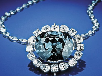 Several months ago, the Hope Diamond was taken from the National Museum of Natural History for an overnight stay in the mineralogy lab.