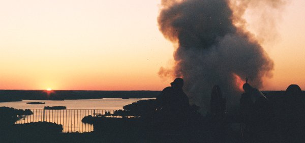 Canon Fires Over Table Rock Lake thumbnail