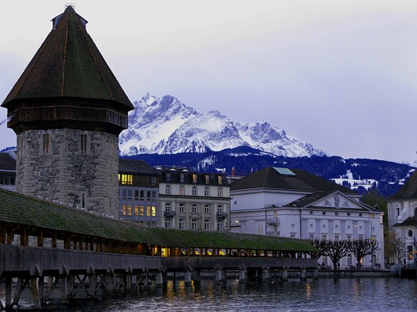 The Alps in Lucerne. thumbnail