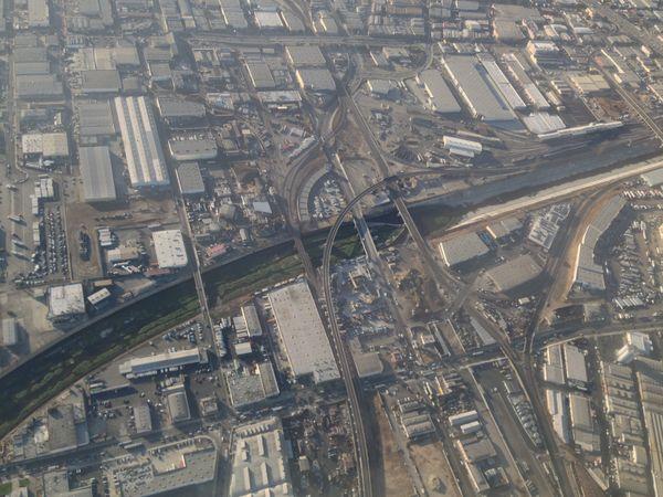 Looking down at Los Angeles  thumbnail