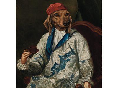 """""""Chevalier de Saint-Denis,"""" Thierry Poncelet."""