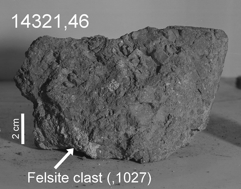 Earth's Oldest Known Rock May Have Been Found on the Moon